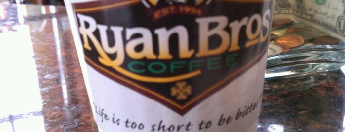 Ryan Bros. Coffee is one of Orte, die John gefallen.