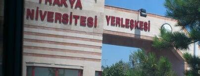Trakya Üniversitesi is one of Edirne.