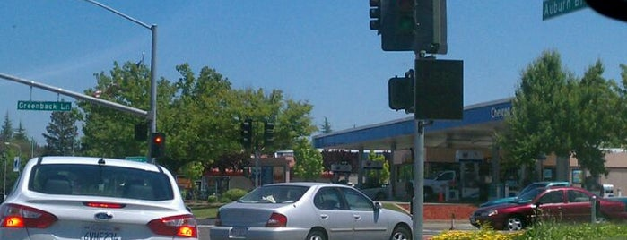 Auburn Boulevard & Greenback Lane is one of roads.