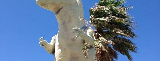 Cabazon Dinosaurs is one of NewNowNext Travel.