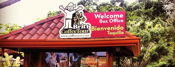 Britt Coffee Tour is one of Tempat yang Disukai Mark.