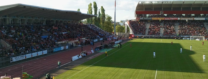 Stade Gaston Gérard is one of Football Arenas in Europe.