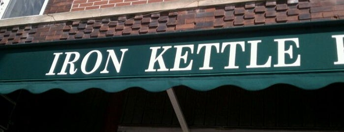 The Iron Kettle is one of Greasy Spoon Badge.