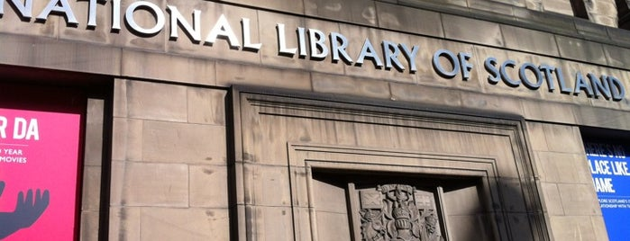 National Library of Scotland is one of Carlさんのお気に入りスポット.