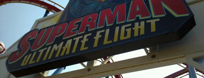 Superman: Ultimate Flight is one of 416 Tips on 4sqDay 2012.