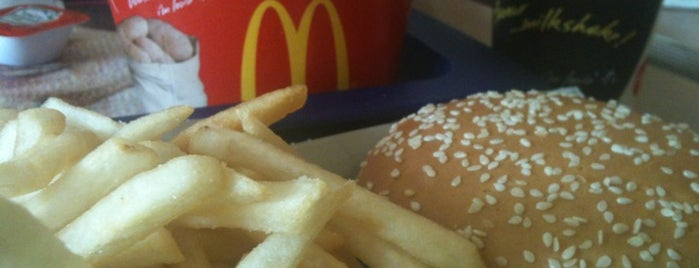McDonald's is one of Fav Places To Eat.