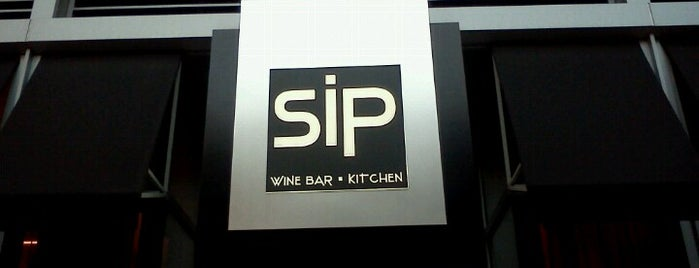 Sip Wine Bar & Kitchen is one of bean town baby.