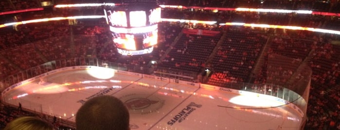 Prudential Center is one of NHL (National Hockey League) Arenas.