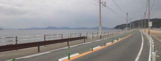 海の中道 is one of 日本の白砂青松100選.