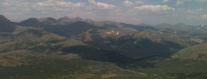 Mt. Bierstadt Summit is one of 14ers.
