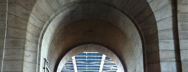 The Archway under the Manhattan Bridge is one of NY To Do.