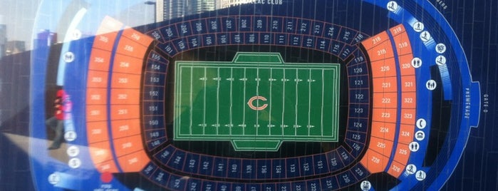 Chicago Bears Pro Shop (North) is one of Ricardo'nun Beğendiği Mekanlar.