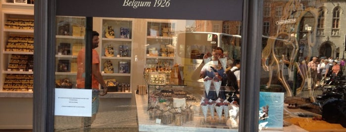 Godiva is one of Bruges.