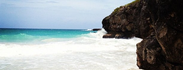 Playa Caracas (Red Beach) is one of Puerto Rico.