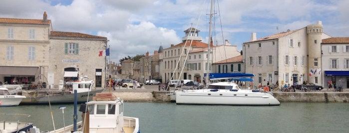 Port de Saint-Martin de Ré is one of Europe: 3months business trip '15.
