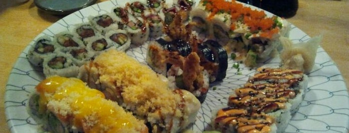 Blue Ocean Sushi is one of Want To Go.