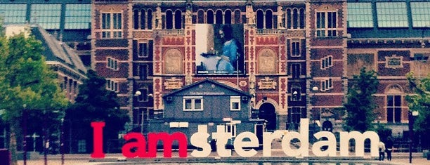 Museumplein is one of Amsterdam..