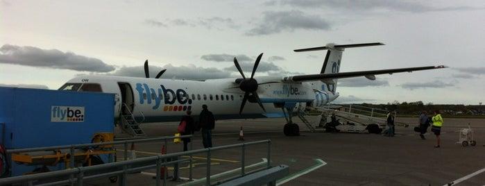 Aberdeen International Airport (ABZ) is one of AIRPORT.