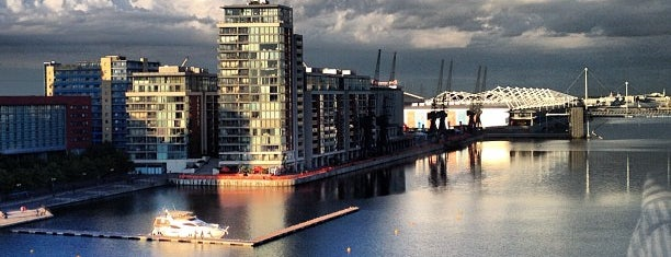Royal Victoria Dock is one of Greenwich and Docklands; London.