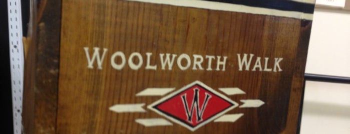 Woolworth Walk is one of Asheville.