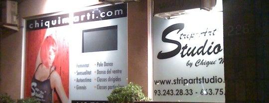 Strip Art Studio is one of barri besos mar poble nou.