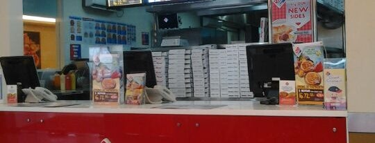 Domino's Pizza is one of Food.