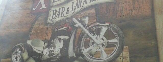 Xerife Bar & Lava Moto is one of Tempat yang Disukai Luiz Fernando.