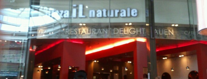 Il Naturale is one of Business trip restaurants.