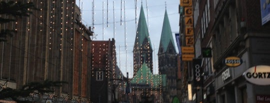 Obernstraße mit Domblick is one of Tempat yang Disimpan Sevgi.