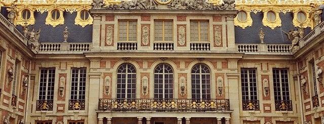Château de Versailles is one of Jas' favorite urban sites.