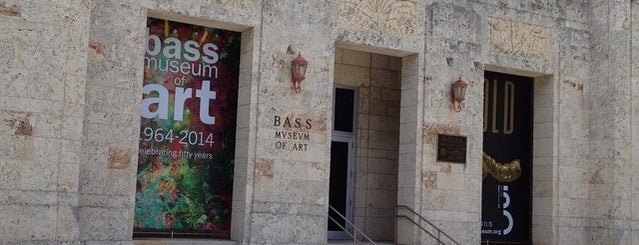 The Bass is one of Art Basel / Miami.