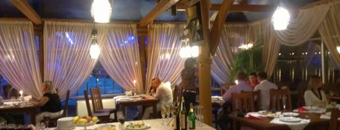 Гавань Видубичі is one of Рестораны Киева / Restaurants (Kyiv).