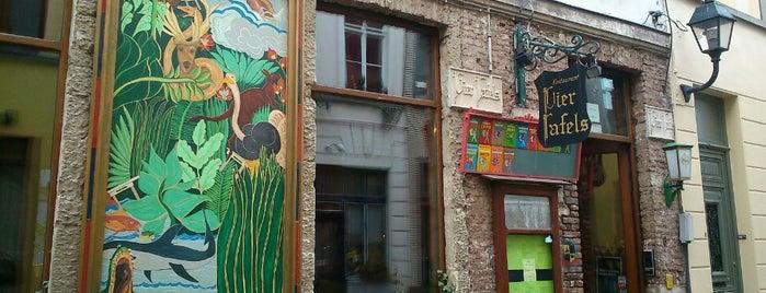 Vier Tafels is one of Restaurants Gent.