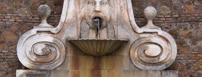 Fontana del Mascherone is one of 101 cose da fare a Roma almeno 1 volta nella vita.