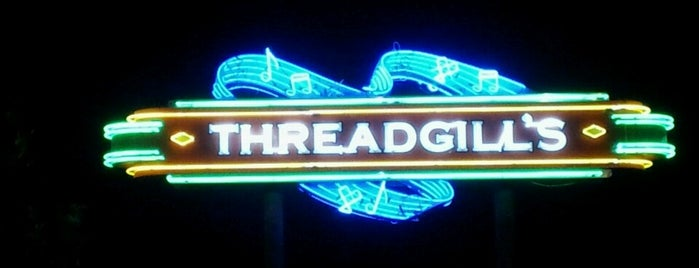 Threadgill's is one of Orte, die Matthew gefallen.
