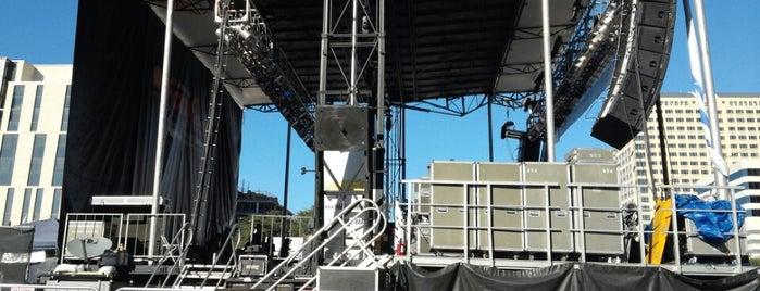 F-1 Bud Light Stage is one of F1 Fan Festival.