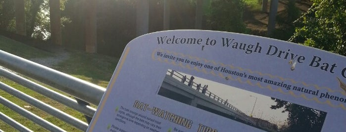 Waugh Bridge Bat Colony is one of Houston Points Of Interest.