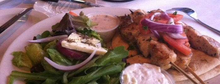 Mythos Greek Taverna is one of yummy eats.