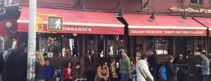 Lombardi's Coal Oven Pizza is one of nyc eats.
