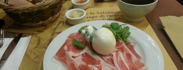 Salsamenteria di Parma is one of Lunch Milano.