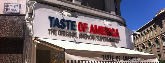 Taste Of America is one of Locais curtidos por Enrique.