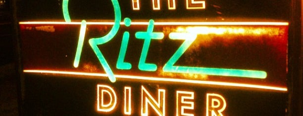 The Ritz Diner is one of Lizzie 님이 저장한 장소.