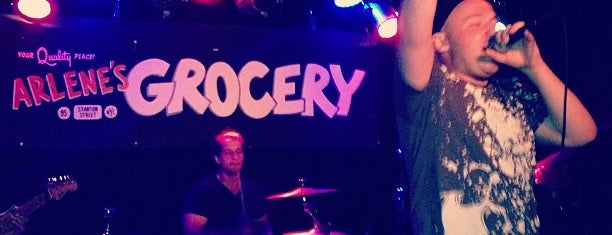 Arlene's Grocery is one of Live Music.