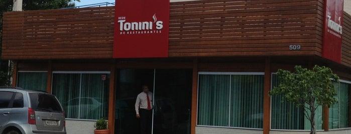 Restaurante Tonini's is one of Restaurantes.