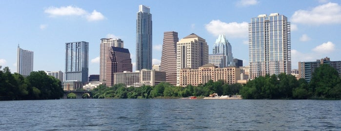 Lady Bird Lake is one of Looking @ Skylines.