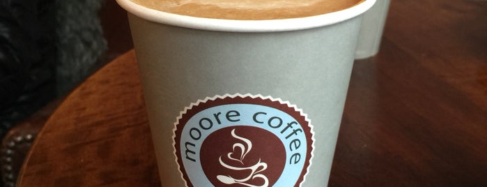 Moore Coffee is one of Freeman's Liked Places.