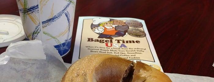 Bagel Time is one of สถานที่ที่บันทึกไว้ของ John.