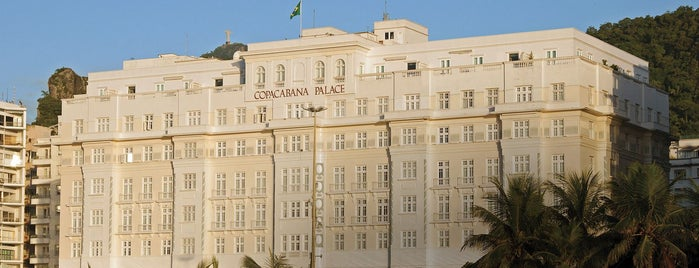 Belmond Copacabana Palace is one of Discover Belmond.