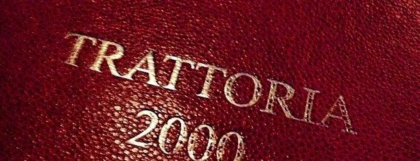 Trattoria 2000 is one of Locais salvos de Berten.