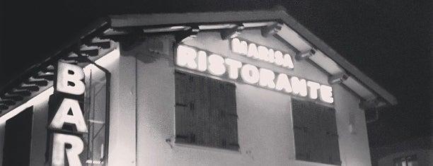 Ristorante Marisa is one of สถานที่ที่ Andrea ถูกใจ.
